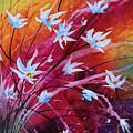 Dancing Flowers by Michael Lang