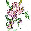Dancing Flowers by Judith Herbert