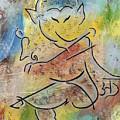 Dancing Ganesha by Seema Varma
