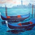 Dancing Gondolas by Lia  Marsman