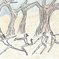 Dancing In The Mountain by Gabriel Coelho