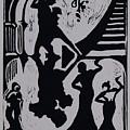 Dancing In The Shadows by DeLa Hayes Coward