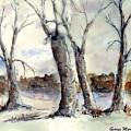 Dancing In Winter by George Markiewicz