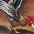 Dancing Rooster  by Torrie Smiley