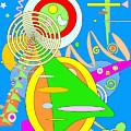 Dancing Spirals 2 by Michael Witia