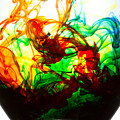 Dancing Water Colors by Billy Bateman