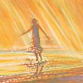 Dancing With Summer Rain Drops by Kip Decker