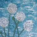 Dandelions Blowing In The Wind by ALD Artwork