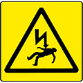 Danger Electricity by Bigalbaloo Stock