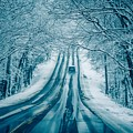 Dangerous Slippery And Icy Road Conditions by Alex Grichenko