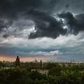 Dangerous Stormy Clouds Over Warsaw by Lukasz Szczepanski