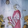 Daniel And Lion's Den by Love Art Wonders By God