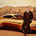 Daniel Craig As James Bond by Paul Meijering