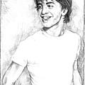 Daniel Radcliffe by Liz Molnar