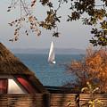 Danish Autumn Sea View by Kim Lessel