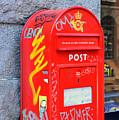 Danish Mailbox by Catherine Sherman