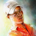 Danny Willett In The Madrid Masters by Miki De Goodaboom