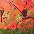 Dansing Ant's by Marcela Hessari