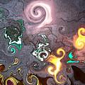 Dantes Inferno by Amanda Vouglas