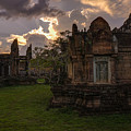 Dark Cambodian Temple by Mike Reid