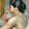 Dark-haired Woman by Pierre Auguste Renoir