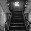 Dark Stairs To Attic - Urban Exploration by Dirk Ercken