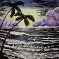 Dark Storm Approaching by Rebecca Edenton