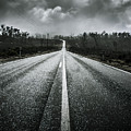 Dark Stormy Road To Cradle Mountain In Tasmania by Jorgo Photography - Wall Art Gallery