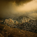 Darkness Falls Over The Sandias by Michael McKenney