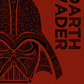 Darth Vader - Star Wars Art  by Studio Grafiikka