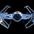 Darth Vaders Tie Figher Advanced X1 Tee by Edward Fielding
