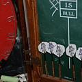 Darts And Board by Rob Hans