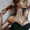 Dasha. Little Black Dress.  by Tatiana Siedlova