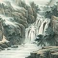Dashan Waterfall by Dong Xiyuan