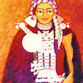 Daughter Of The Bright Sun - Kushe by Madalena Lobao-Tello