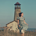 Daughter Of The Lighthouse Keeper by Denis Kovalenko