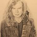 Dave Mustaine by Derek Branham