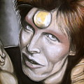 David Bowie As Ziggy Stardust by Zach Zwagil
