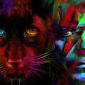 David Bowie - Cat People  by Daniel Arrhakis