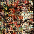 David Bowie Collage Mosaic by Dan Sproul