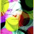 David Bowie Futuro  by Enki Art