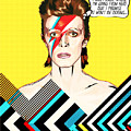 David Bowie Pop Art by BONB Creative