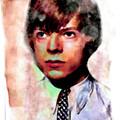 David Bowie Teenager Aquarelle  by Felix Von Altersheim