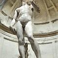 David By Michelangelo Pencil by Edward Fielding