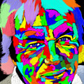 David Icke Portrait by Stephen Humphries