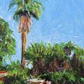 David Rd Palm by Deborah Hildinger