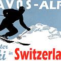 Davos, Alps, Mountains, Switzerland, Winter, Ski, Sport by Long Shot