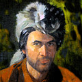 Davy Crockett by David Lee Thompson