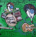 Davy Knowles And Back Door Slam by Laurie Maves ART