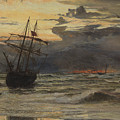 Dawn After The Storm by William Lionel Wyllie